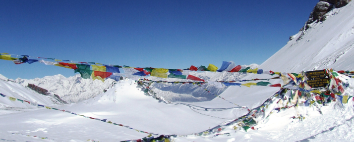 Thorung La Pass 5416m - Annapurna Round Trek